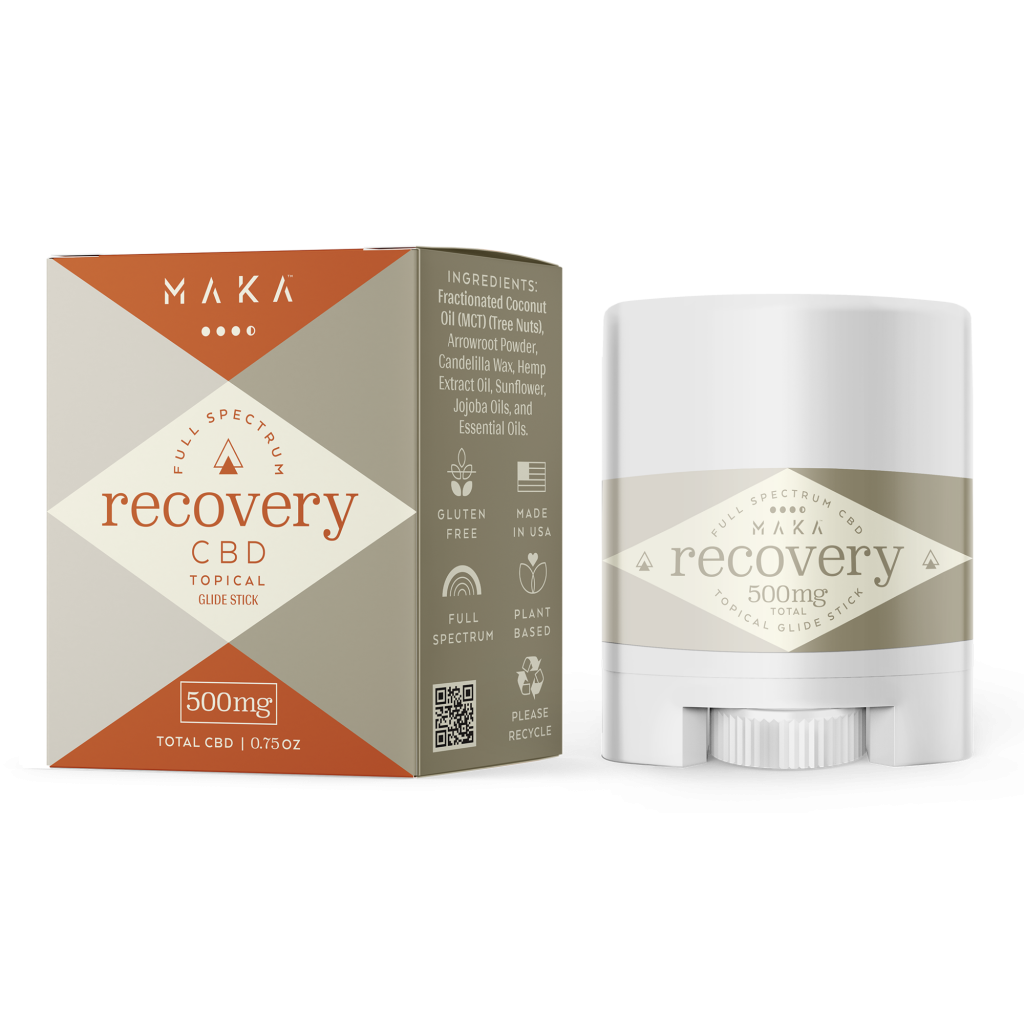 Topical Recovery Stick, 500mg/0.75oz