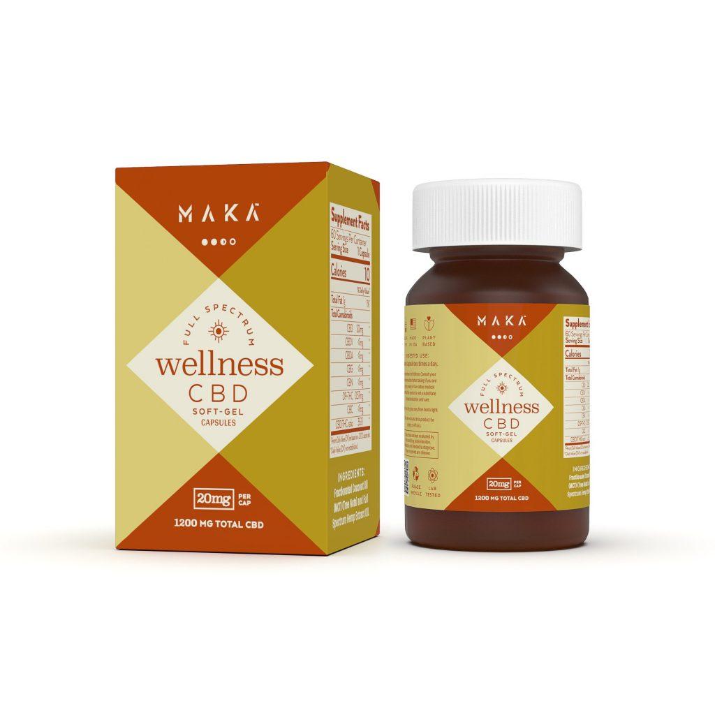 Daily Wellness Softgel Capsules - 20mg