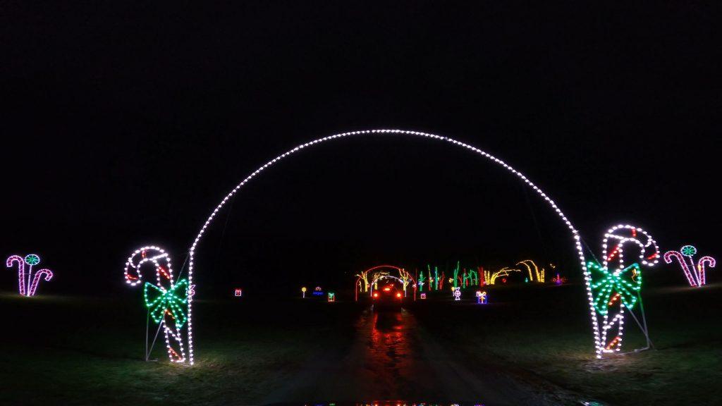 bethel art center holiday lights